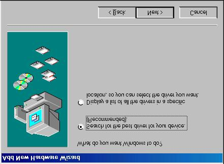 4. Ensure that the CD-ROM drive is selected.