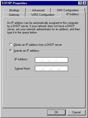 2-2-2 Windows 2000 IP address setup 1. Click Start button (it should be located at lower-left corner of your computer), then click control panel.