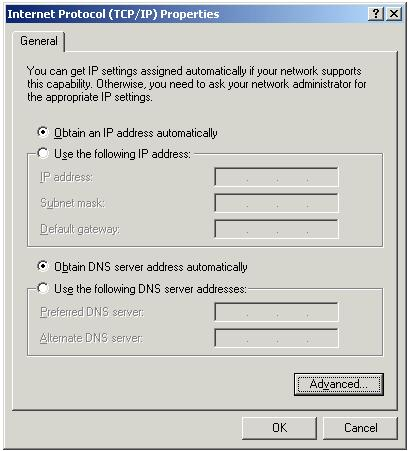 2-2-3 Windows XP IP address setup 1. Click Start button (it should be located at lower-left corner of your computer), then click control panel.
